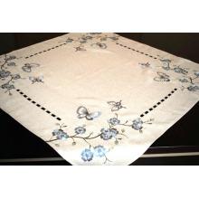 Tapa de tabla de poliéster hecha a mano Cutwork Fh239