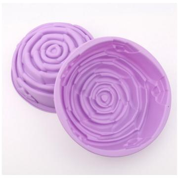 Fancy Mold for Baking Silicone Rose Cake Tool