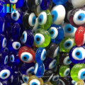 jewelry fashion many colors crystal glass turkish eye beads