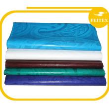 tela de algodón africano bazin riche en tela tejida para vestido tela de bordado Feitex