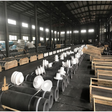 RP graphite electrode for alloy smelting