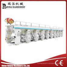 Ruipai Marca Seis Cores Máquina de Impressão Rotoravure