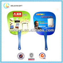 Summer advertisement PP fan for promotion
