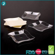 Plastic Party Wave Plates 7 Inch