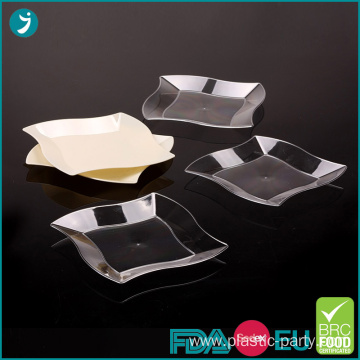 Disposable Plastic Wave Plate 7 Inch