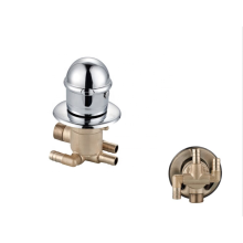 Factory 2/3/4/5 Way  High quality brass bathroom single hand wheel  shower panel faucets