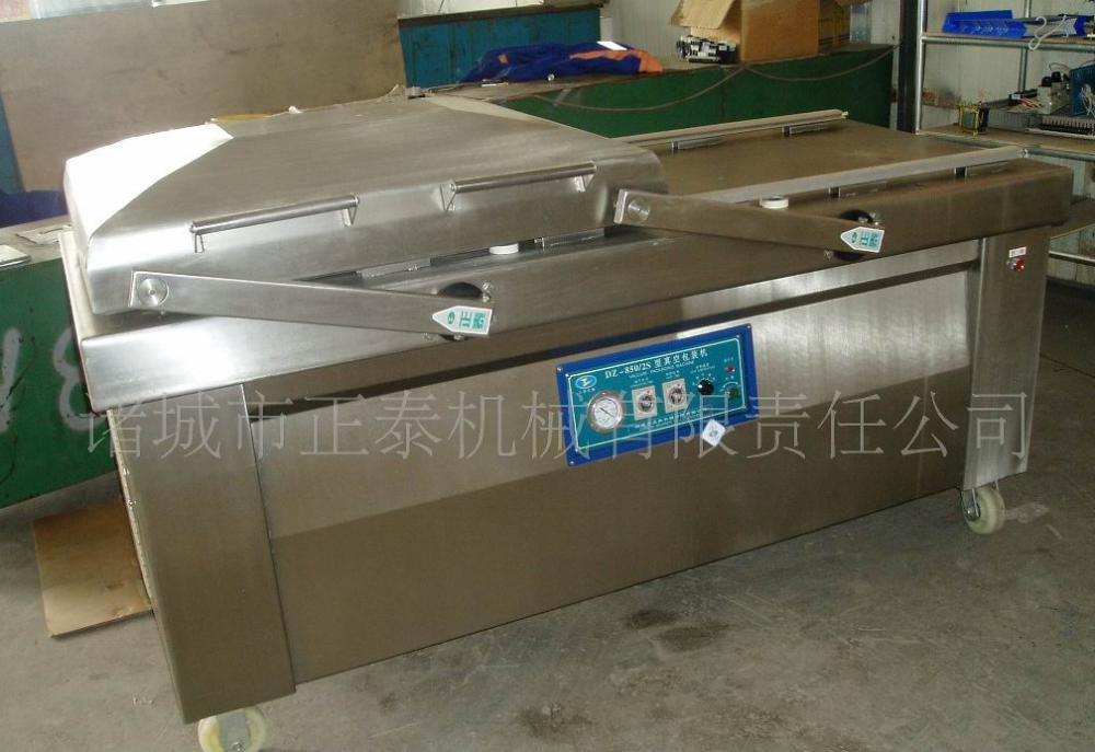 Sacks of Drumettes Vacuum Packing Machine