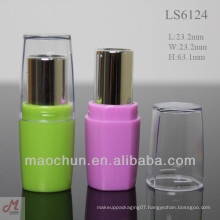 LS6124 pink small plastic lipstick covers