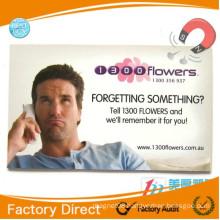 Wholesale advertising photo postcard personalized fridge magnets