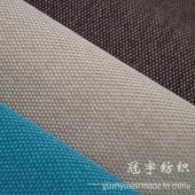 Tissu de lin synthétique collé avec différents types de support pour la décoration