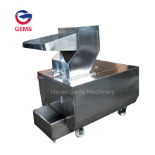 Frozen Meat Slicing Crusher Meat Processing Machine