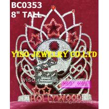designer crystal pageant crown