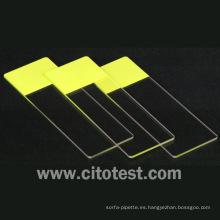 Portaobjetos de microscopio desechables de laboratorio (0302-6101)