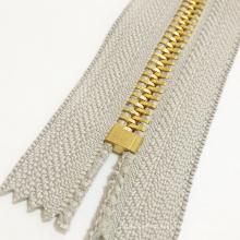 # 10 de metal de color cremallera para prendas de vestir