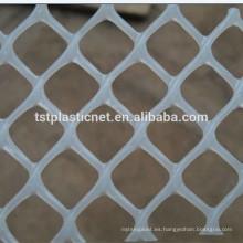 Redes lisas plásticas sacadas / malla plástica flexible / malla plana plástica