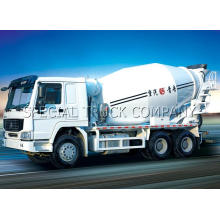 Venta caliente Euro 2 y Euro 3 New Concrete Mixer Truck