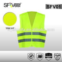 Nouveau produit Veste de sécurité réfléchissante à haute visibilité à haute visibilité