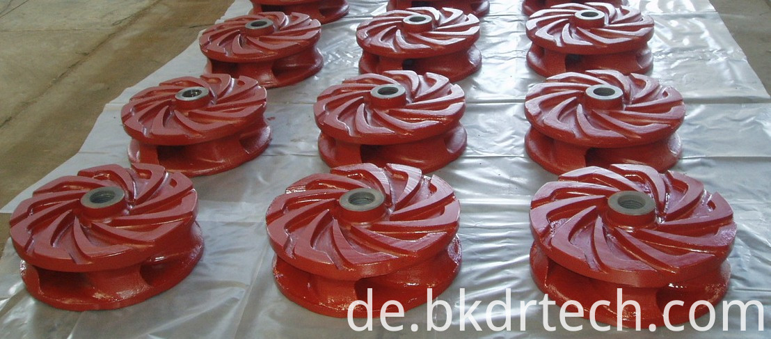 Heavy slurry Impeller