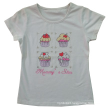 Good Quality Kids Children Custom Printed Cake T-Shirt (SGT-027)