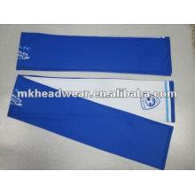 100% poliéster impresión fútbol bufanda