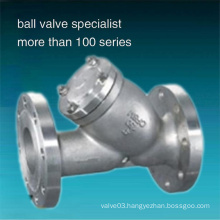 Stainless Steel 304 Flanged Y Type Strainer