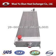 Venta caliente y alto rendimiento personalizable radiadores de agua de aluminio