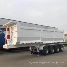 4 Axle Hydraulic Tractor Semi Dump Truck Trailer