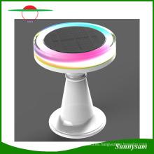 Cambio de Color de Control Remoto IP65 Impermeable Solar Decorativa LED Luz de Escritorio Solar Lámpara de Mesa Solar de Restaurante