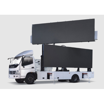 Outdoor Waterdichte Moving Truck LED Display