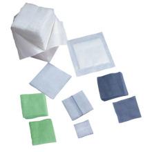 Cotonetes de gaze absorvente de algodão não estéril