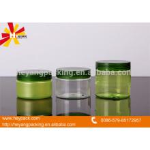 120ml 150ml 200ml PET material jar verde