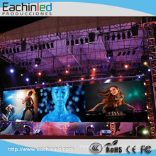 Indoor rental led wall/ led video wall P5,P6 for night club wall decor