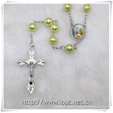 8mm Plastic Beads Rosaries, Catholic Rosaries, Religious Item (IO-cr385)