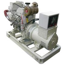 35kw / 44kVA CUMMINS tipo marino generador diesel para el uso de la nave
