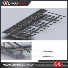 Soportes de tierra del panel solar personalizado (SY0399)