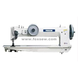 Long Arm Extra Heavy Duty phẳng Bed Hợp chất Feed Lockstitch Sewing Machine