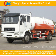 Heavy Duty HOWO 4X2 High Pressure Sewage Suction Truck