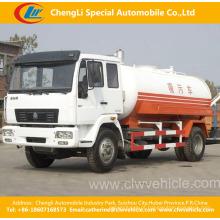 Heavy Duty HOWO 4X2 caminhão de sucção de esgoto de alta pressão