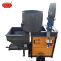 piston diesel motor render cement pump machine/mortar plaster wall spraying