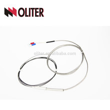 oliter food and beverage probe free bending armoured flue flexible thermocouple type e for carbon plant