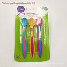 3PC TPR Baby Spoons Spoon Set