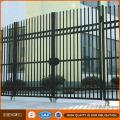 Economic Ornamental Wrought Iron Metal Garden Fence Panel