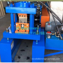Slotted strut channel forming machine