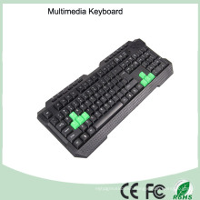 116 Keys Cheapest Wired Gaming Keyboard Multimedia (KB-1688M-G)