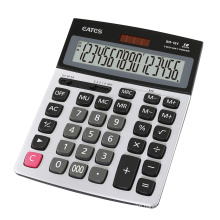 Newest Good Quality ABS Plastic Portable Solar Calculator 16-Digit Big Keys Design Office Cashier Calculator