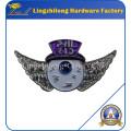 Wing Logo Silver Glitter Badge en venta en es.dhgate.com