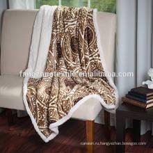 мягкое шерпяное шерстяное одеяло весом 15 фунтов