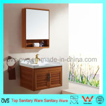 27.55′′ Fancy Bathroom Mirrors Vanity Cabinets with Basin