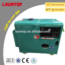 5.5kw Launtop silent diesel generator with 188F engine(474cc) with electric start