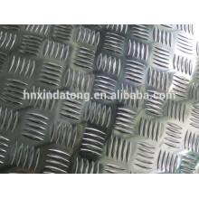 plaque de métal en relief en aluminium